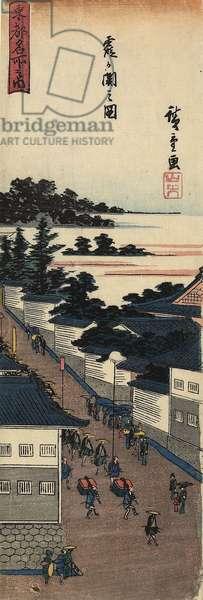 View of Kasumigaseki, 1830-1844