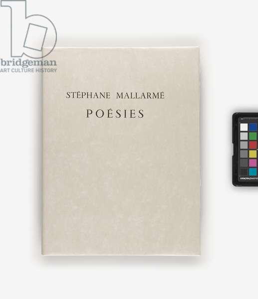 Poésies, 1932 (etching, letterpress)