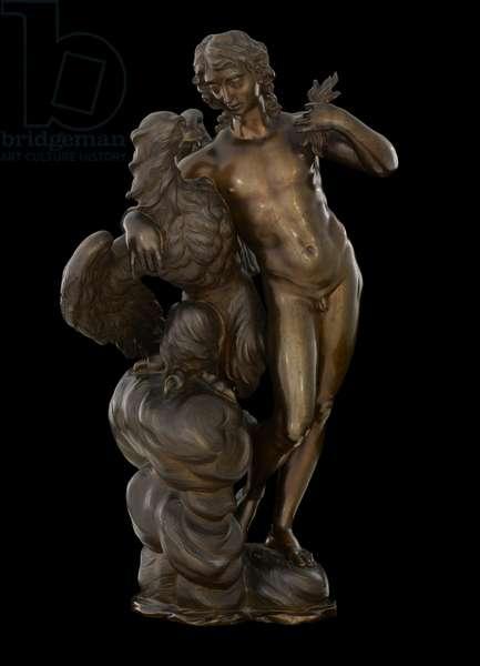 Ganymede and the Eagle, c.1710 (bronze)