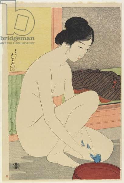 Woman at the Bath, October 1915