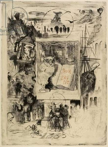 Le Hibou (The Owl), 1883