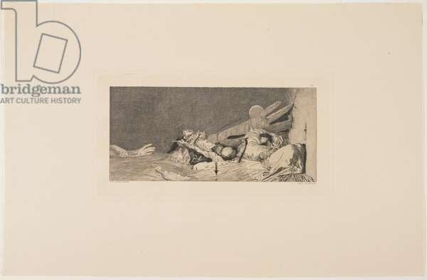 Anxieties, 1881 (etching)