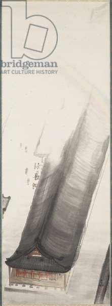 Heian Shrine, c.1916 (ink & colour on paper)