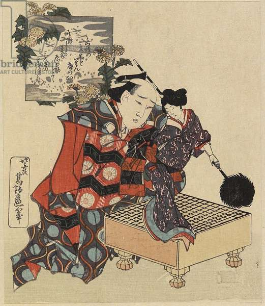 Puppet on Go Game Board, 1820-1834