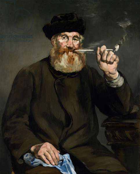 The Smoker, 1866 (oil on canvas)