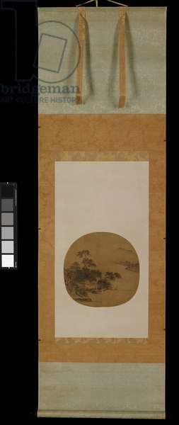 Riverside Retreat, c.1250 (ink & colour on silk)