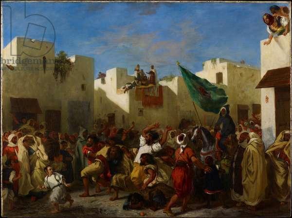 Fanatics of Tangier, c.1837-38 (oil on canvas)