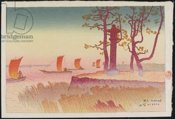 Sunset at Yabase, July 1917
