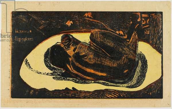 Manao Tupapau, 1894 (colour woodcut)