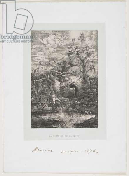 La Comedie de la Mort, 1854
