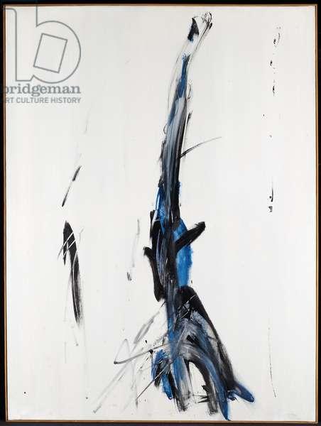 Samurai, 1956 (oil on canvas)