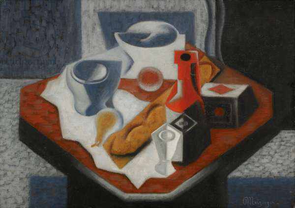 Still Life, 1921 (oil on canvas)