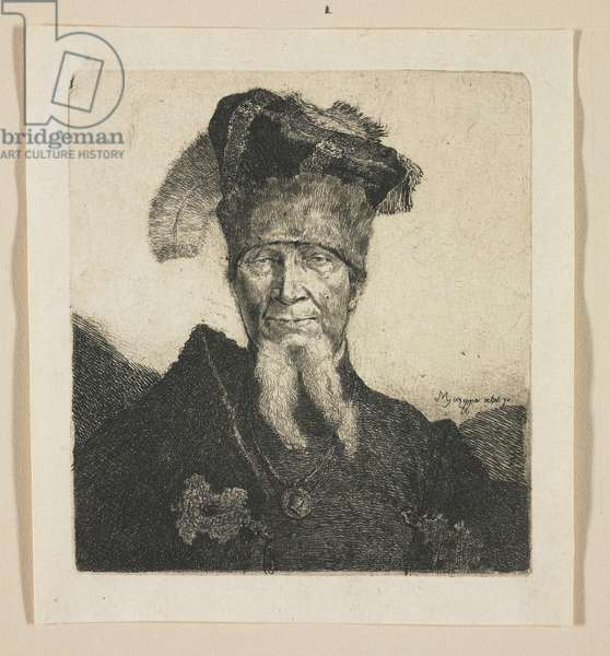 "Portrait of a Man, so-called ""Mazeppa"", 1774-1789"