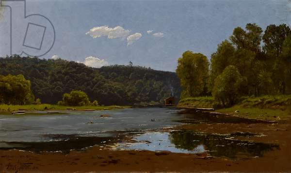 Landscape, 1890 (oil on canvas)