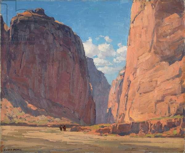 Canyon Portal, c.1935 (oil on canvas)