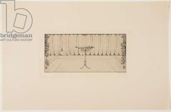 Repose, 1881 (etching & aquatint)