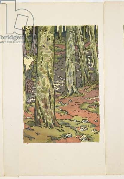 Washing Beneath the Trees, Loguivy, 1894