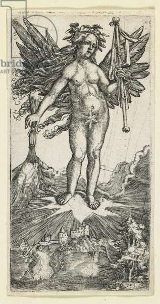 Allegorical Figure, c. 1515-1518