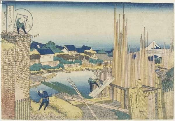 Tatekawa in Honjo, 1831-1834