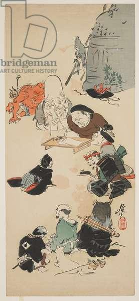 Gathering of O_tsu-e Characters