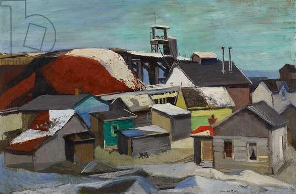 Iron Mine, 1939 (oil on canvas)