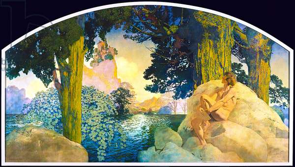 Dream Castle in the Sky, 1908 (oil on canvas)