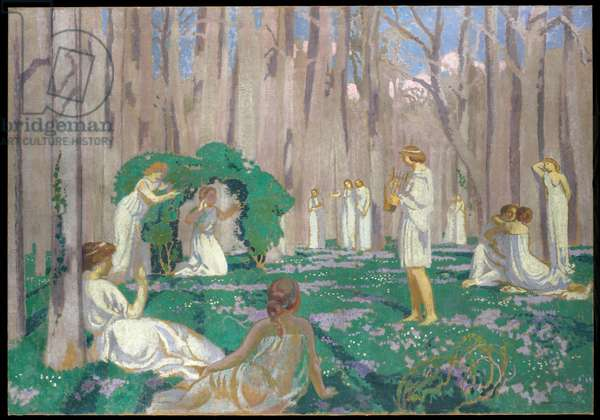 Orpheus and Eurydice, 1910 (oil on canvas)