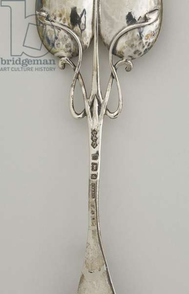 Spoon, detail of the reverse,1903 (silver)