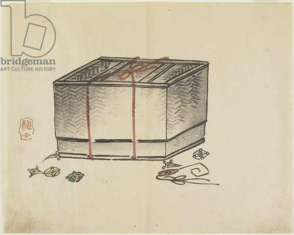 (Wicker Storage Box), c. 1830