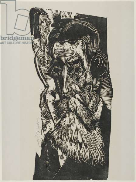 Portrait of Ludwig Schames, 1917-1918