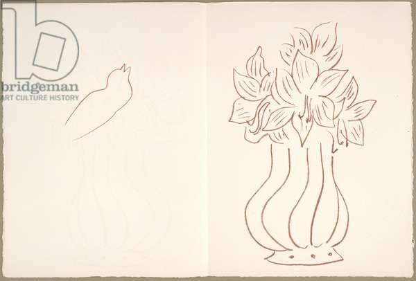 Florilège des Amours de Ronsard, November 29, 1948 (litho)