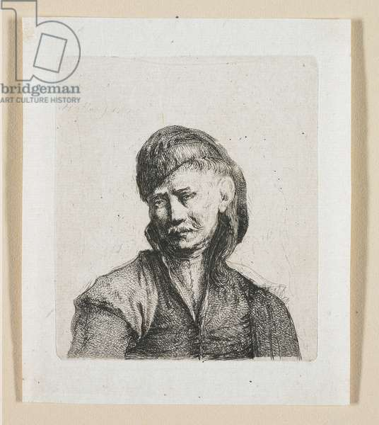 Bust of a Cossack, 1787