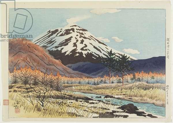 Early Spring at Karuizawa, February 1947