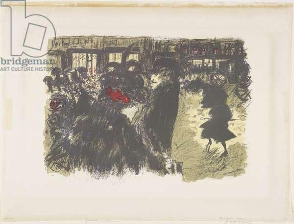 Square at Night, 1899