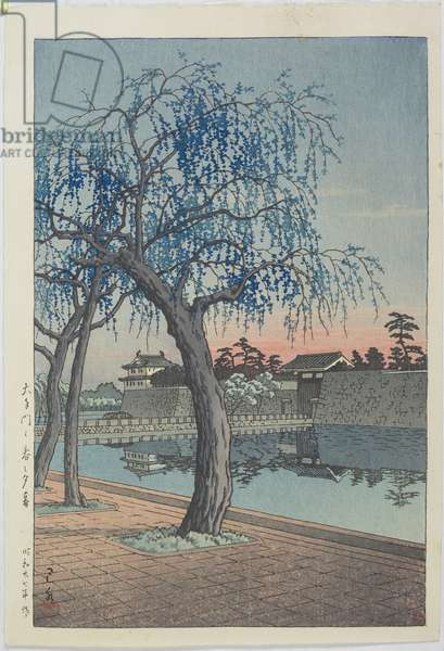 Evening View at O_temon Gate in Spring, July 1952