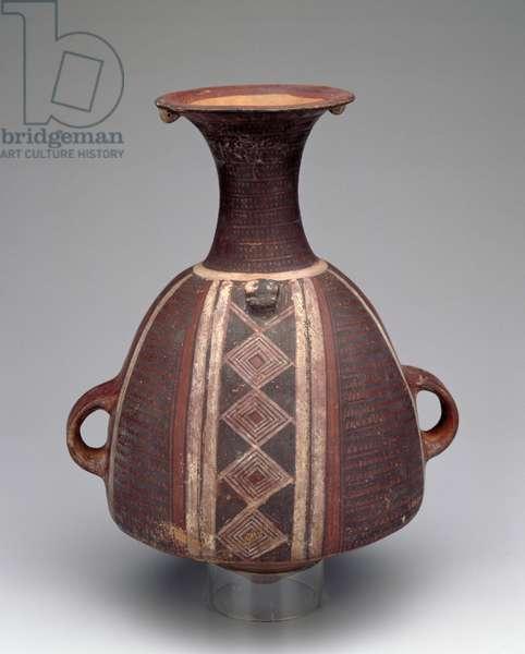 Vessel, Inka (ceramic & pigment)