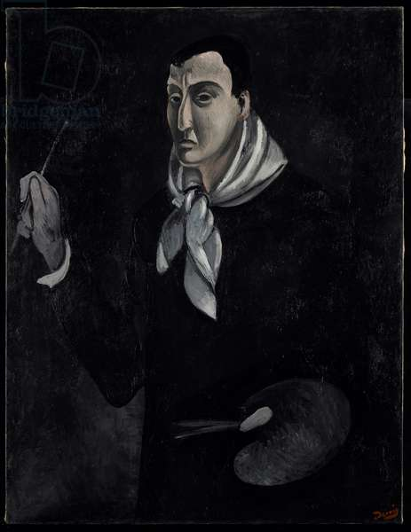 Portrait of the Artist, c.1912-14 (oil on canvas)