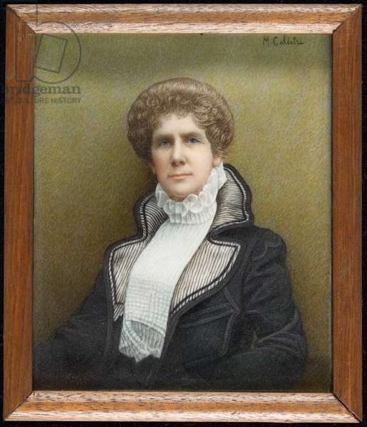 Portrait of Countess Phelps-Resse (oil on paper)