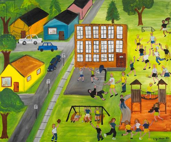 #40 (Oil on canvas)