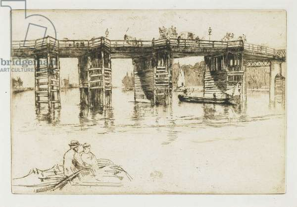 Old Putney Bridge, 1879