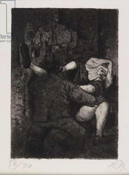 Soldat und Nonne (Soldier and Nun), 1924