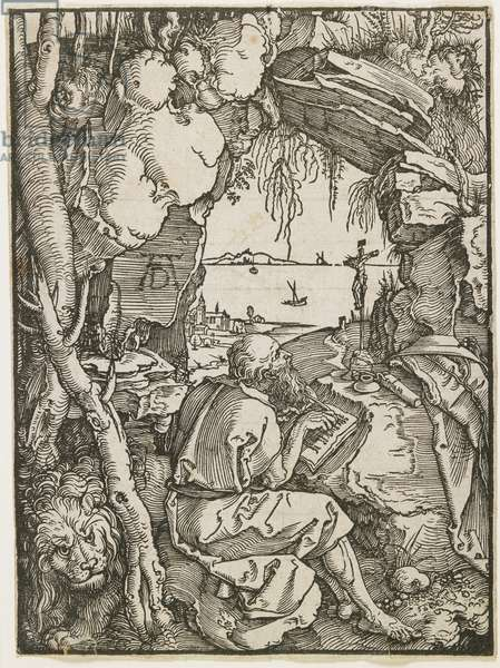 Saint Jerome in a Grotto, 1512