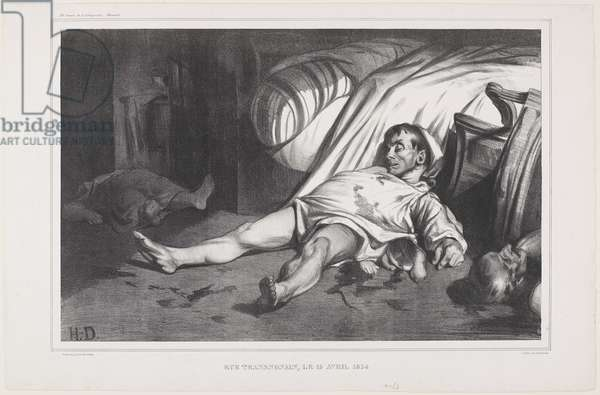Rue Transnonain, le 15 Avril, 1834, 1834