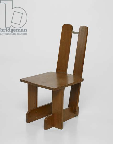 Child's chair, 1935 (wood & metal)