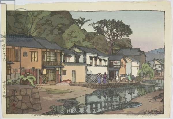 Small Town in Chu_goku District, 1933