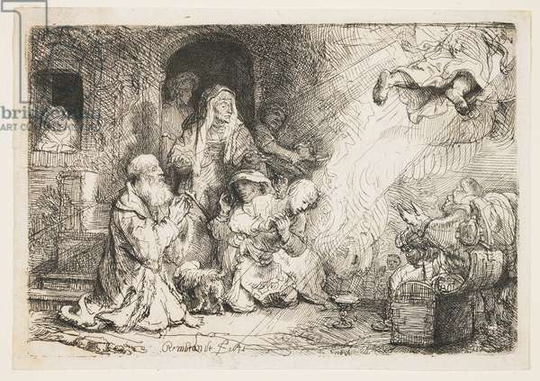The Angel Departing from the Family of Tobias, 1641