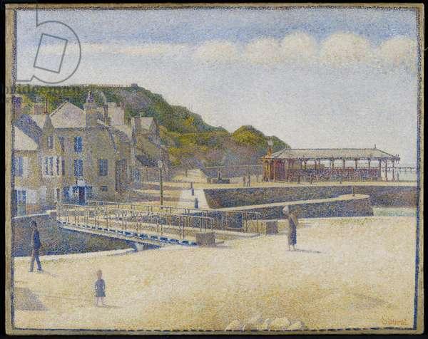 Port-en-Bessin, 1888 (oil on canvas)
