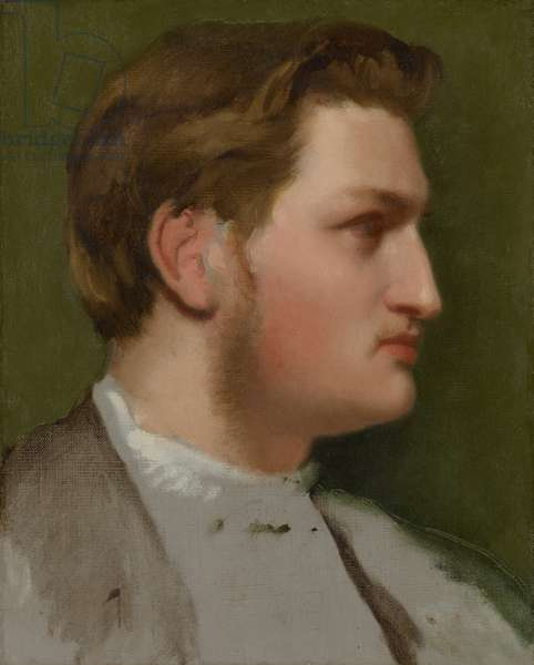 Portrait of Paul Valpinçon, c.1855 (oil on canvas)
