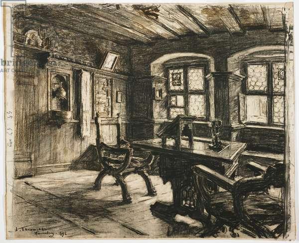 Durer's Room in Nuremberg, 1896