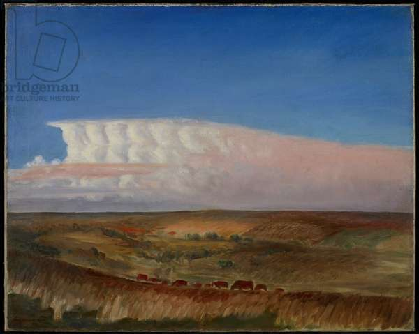 The Cloud, c.1930 (oil on canvas)